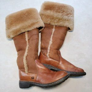 Born | Oakdale Brown Over the Knee Leather Boots 6